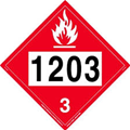 1203 Gasoline Decal