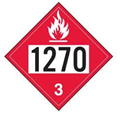 1270 Petroleum Oil Decal
