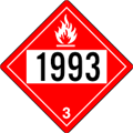 1993 Diesel Fuel Decal