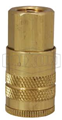 "1/4"" Female NPT 1/4"" Brass Air Couplers"