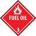 "11"" x 11"" Fuel Oil Decal"